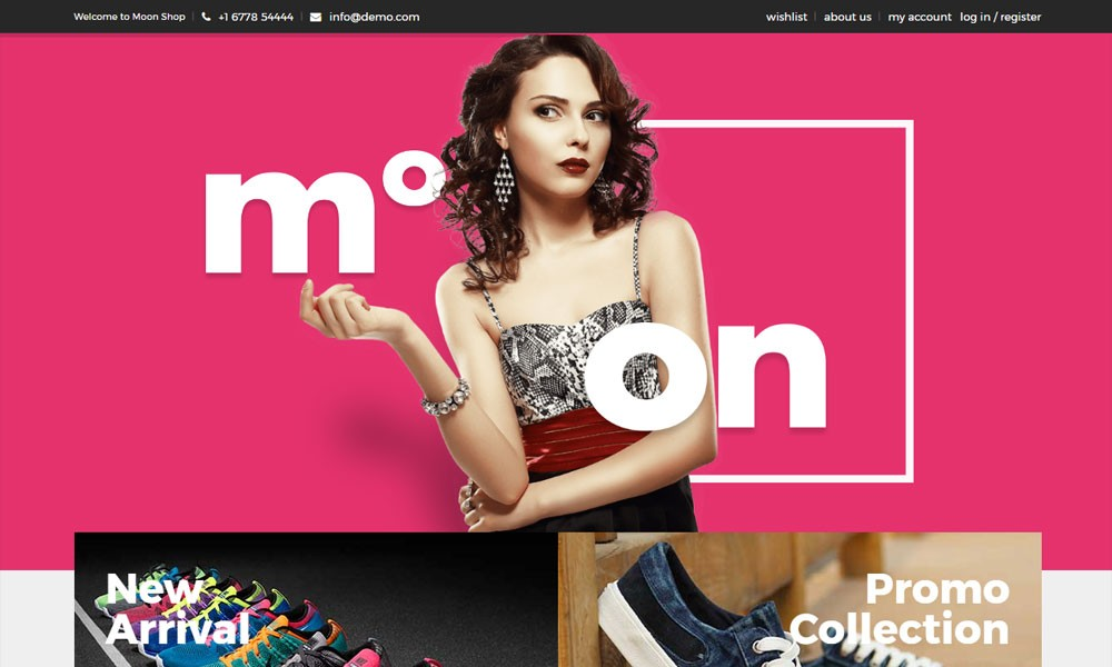 Moon Shop - Responsive eCommerce WordPress Theme for WooCommerce