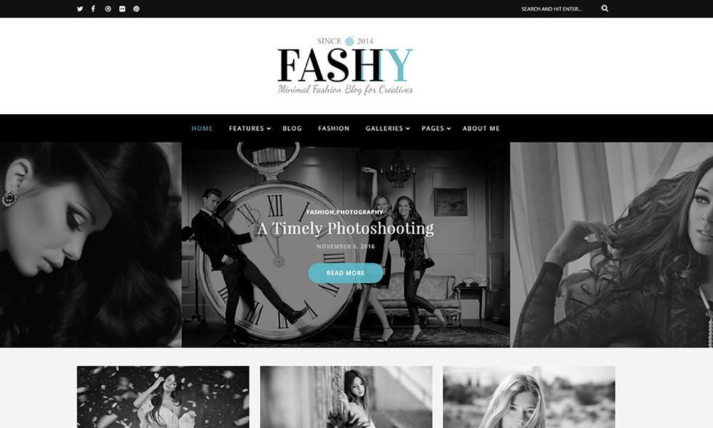 Fashy – WordPress Fashion Blog Theme