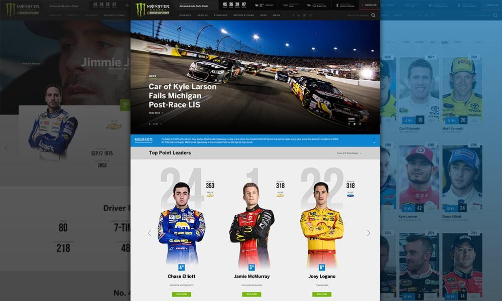 NASCAR - Monster Energy