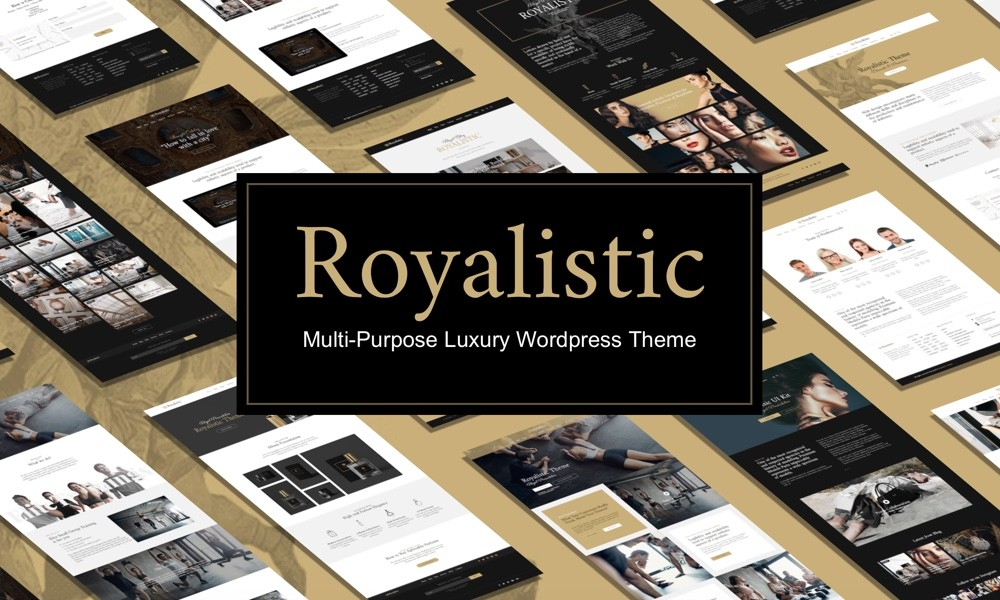 Royalistic - Creative Multi-Purpose WordPress Theme