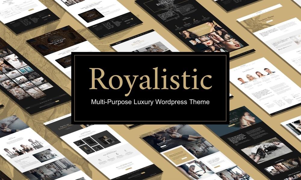 Royalistic - Creative Multi-Purpose WordPress Theme