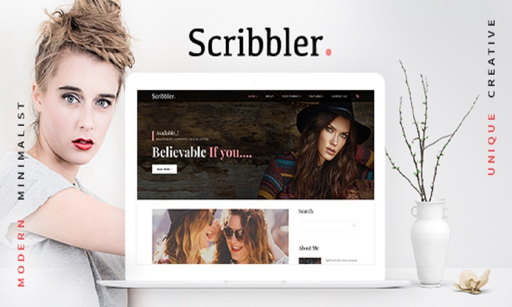 Scribbler - Lifestyle | Fashion Blog HTML Template