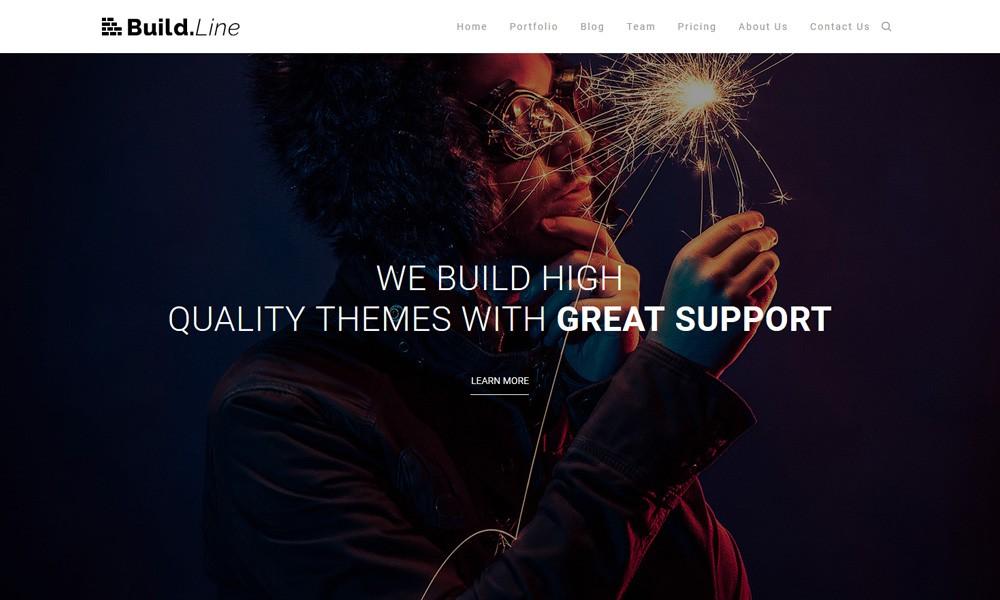 Buildline - Creative Minimal Portfolio HTML | Bootstrap 3.x Template