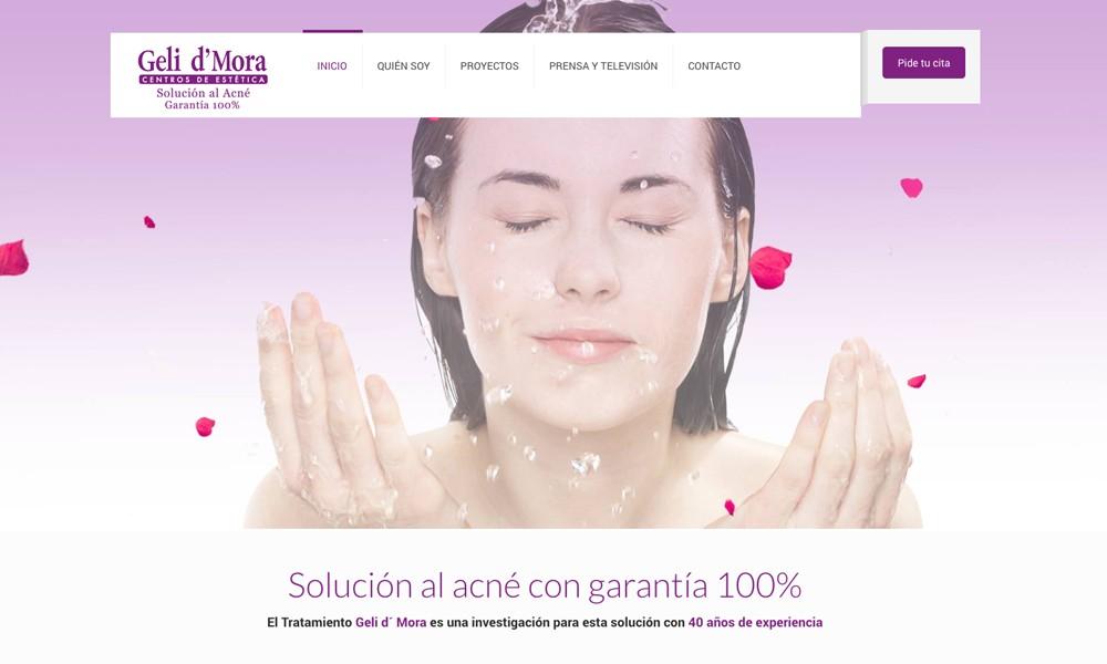 Geli D´Mora. Tratamiento para el acné