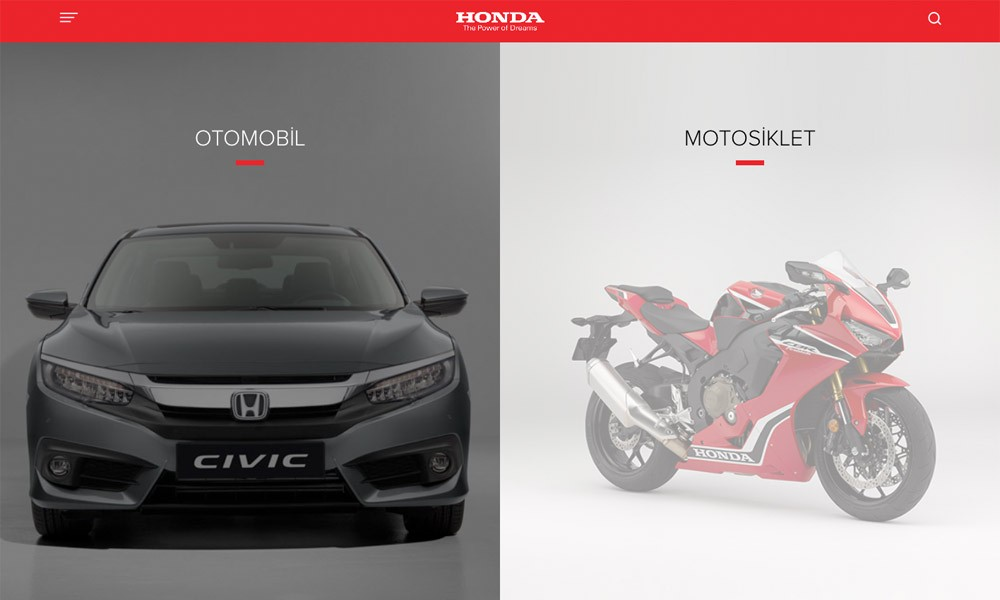 Honda Automobiles & Motorcycles - Turkey