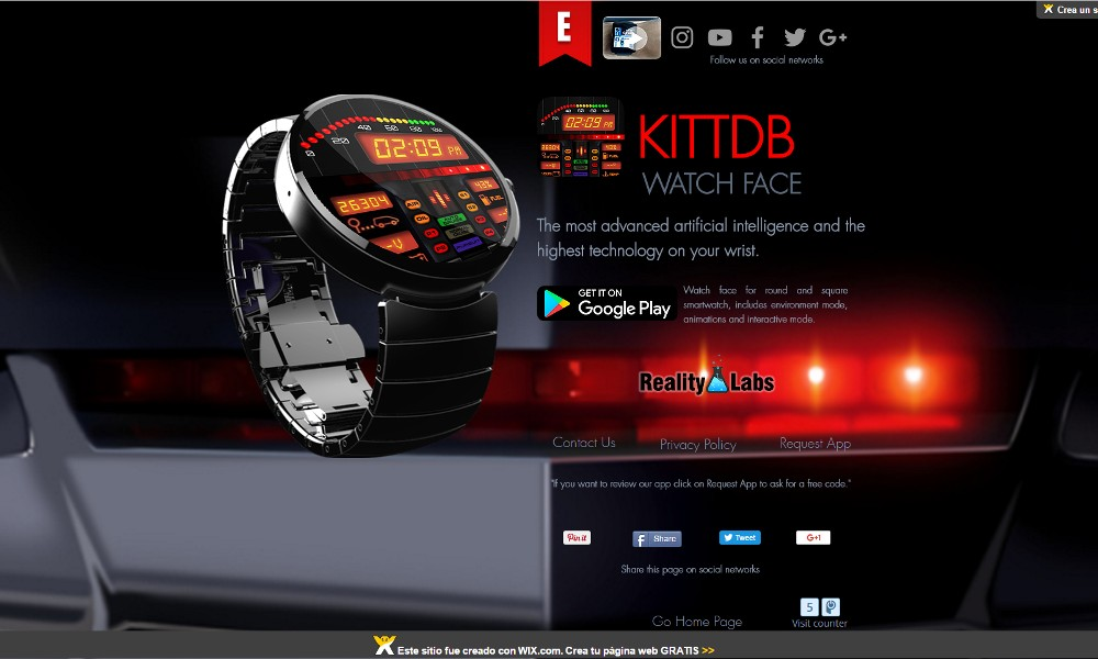 KittDB - Watch Face - Reality Labs