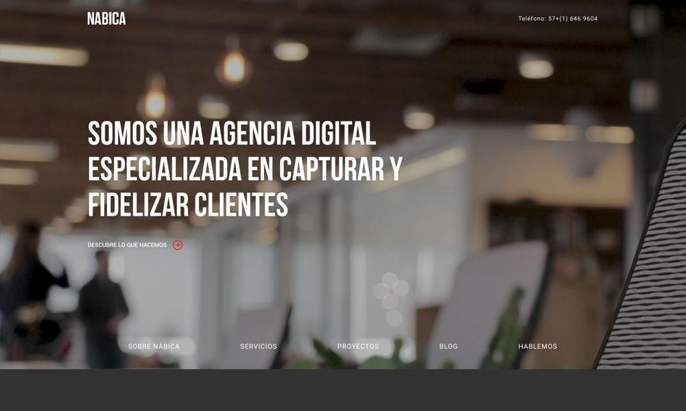 NÁBICA, Agencia Marketing Digital