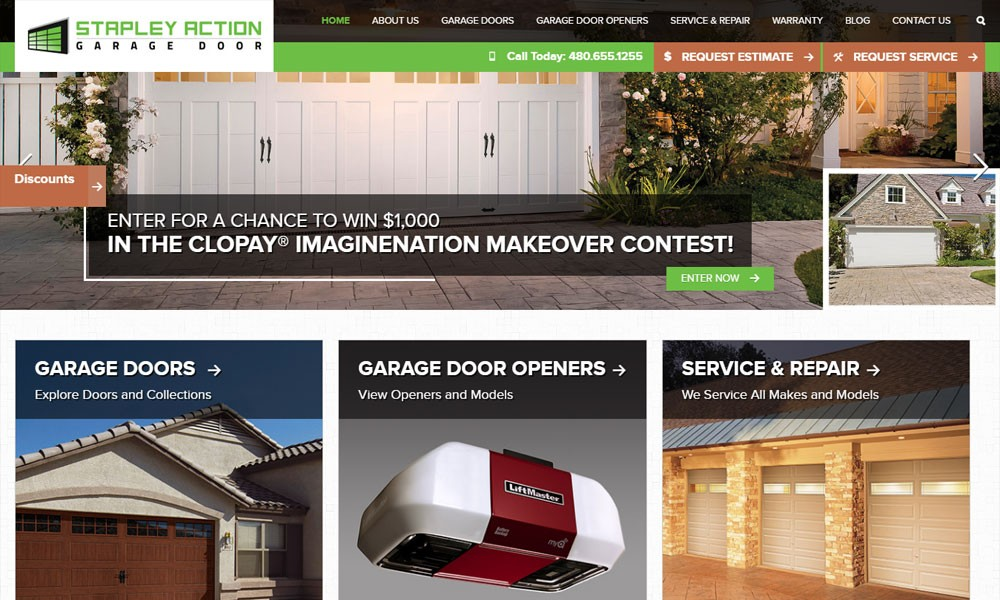 Stapley Action Garage Door