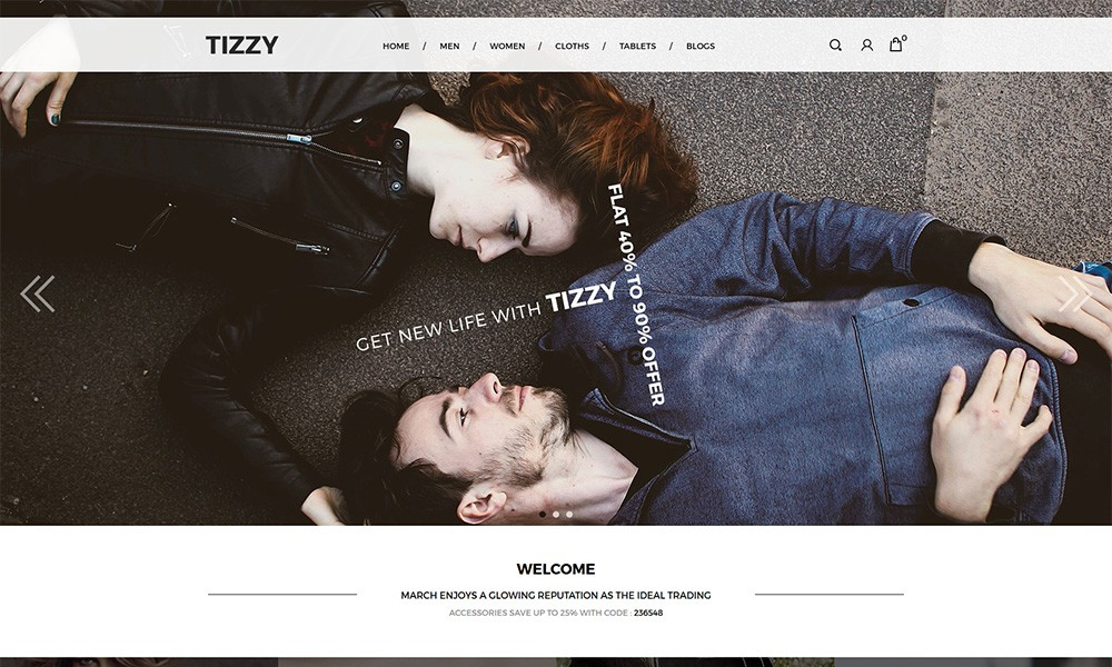 Tizzy - Multipurpose Responsive Opencart Theme | Fashion Store | Watch Store | Bag Store