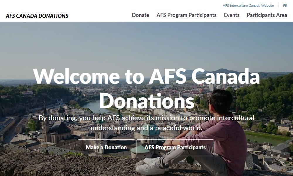 AFS Canada Donations