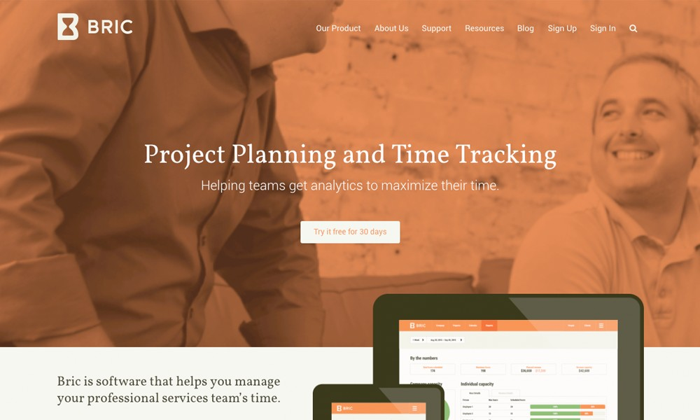 Bric — Plan and Track Time
