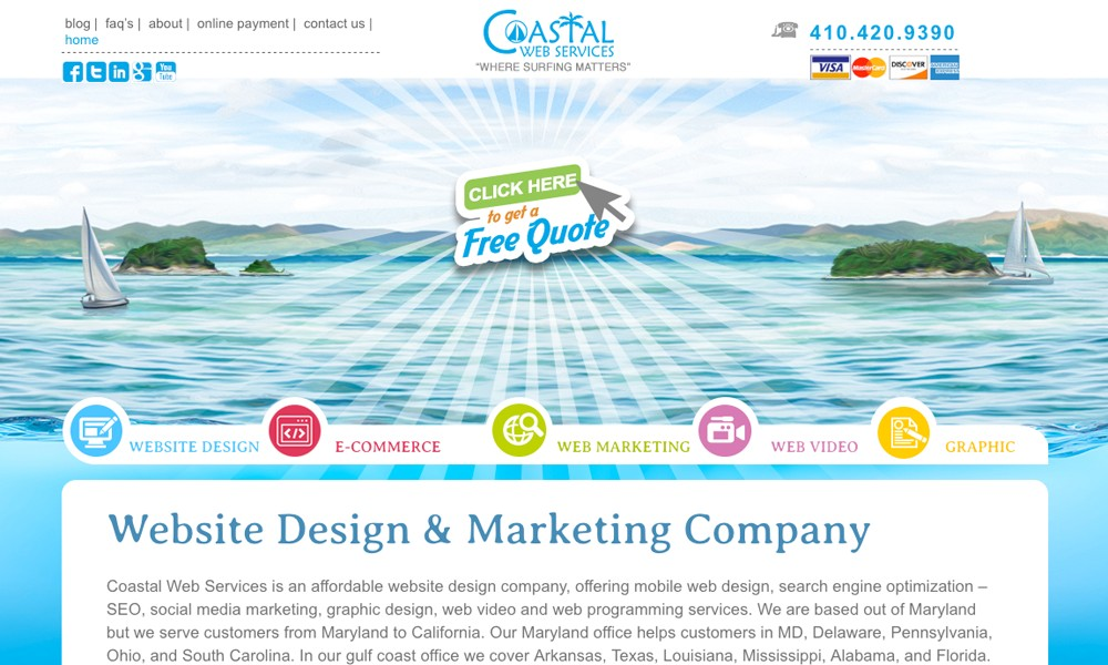 Coastal Web Services