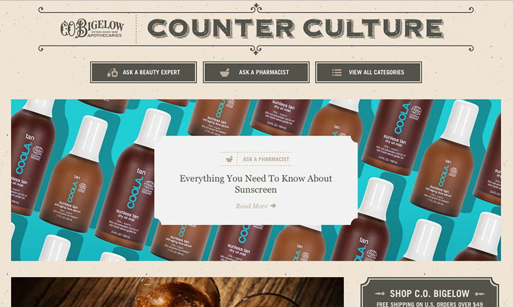 Counter Culture: The C.O. Bigelow Blog