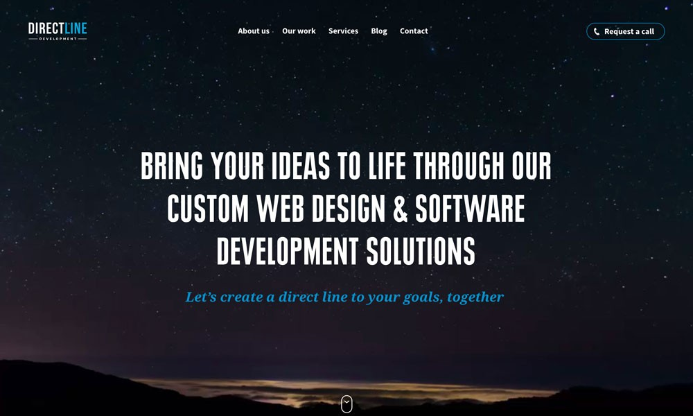 Direct Line Development — Web Design in Philadelphia