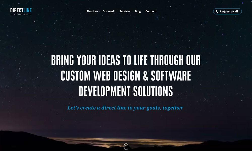 Direct Line Development — Web Design in Philadelphia