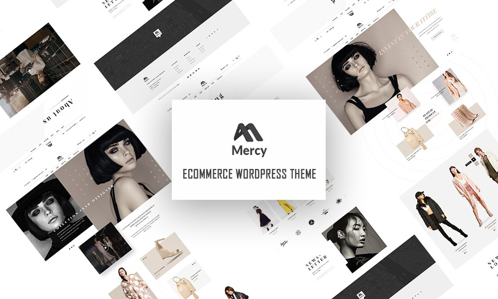 Mercy - Fashion Ecommerce WordPress Theme