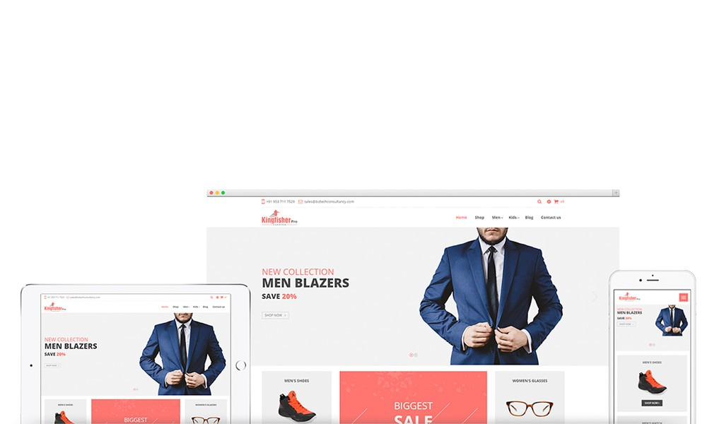 Odoo Kingfisher Fashion Theme