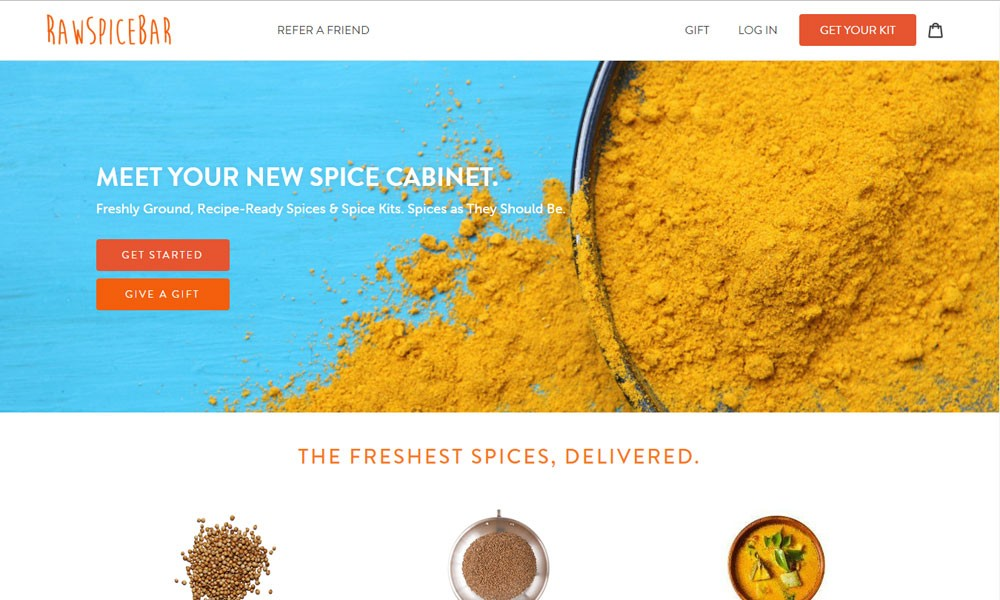 RawSpiceBar: The Freshest Spices & Spice Kits