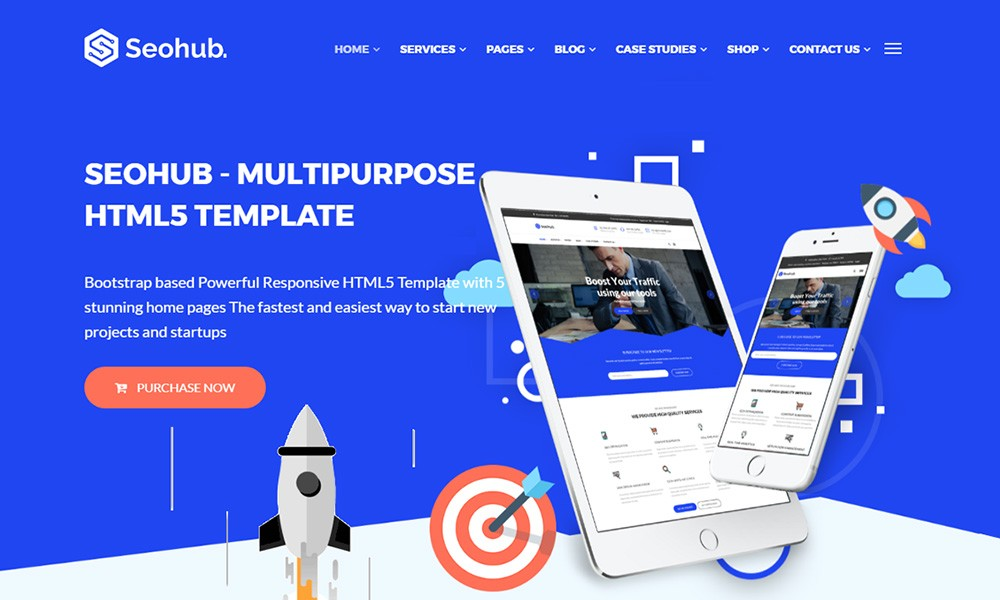 SEOhub Multipurpose HTML5 Template