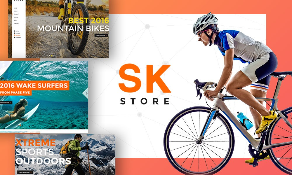 SK STORE - Responsive Store WP theme for Sport & Athletes