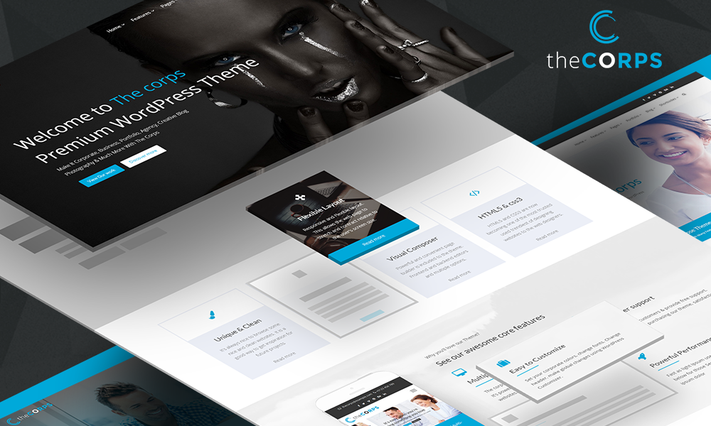 The Corps - MultiPurpose WordPress Theme