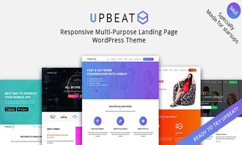 Upbeat - Responsive Multi-Purpose WordPress Theme