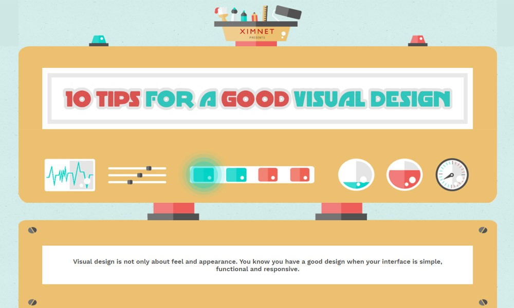 10 Tips for A Good Visual Design