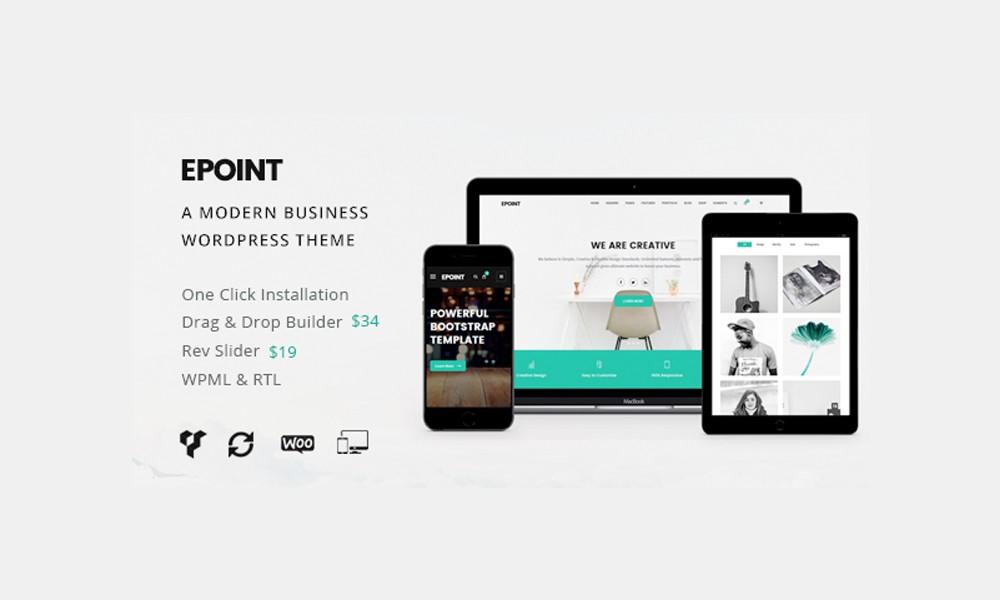 Epoint A Modern Business WordPress Theme by zozothemes