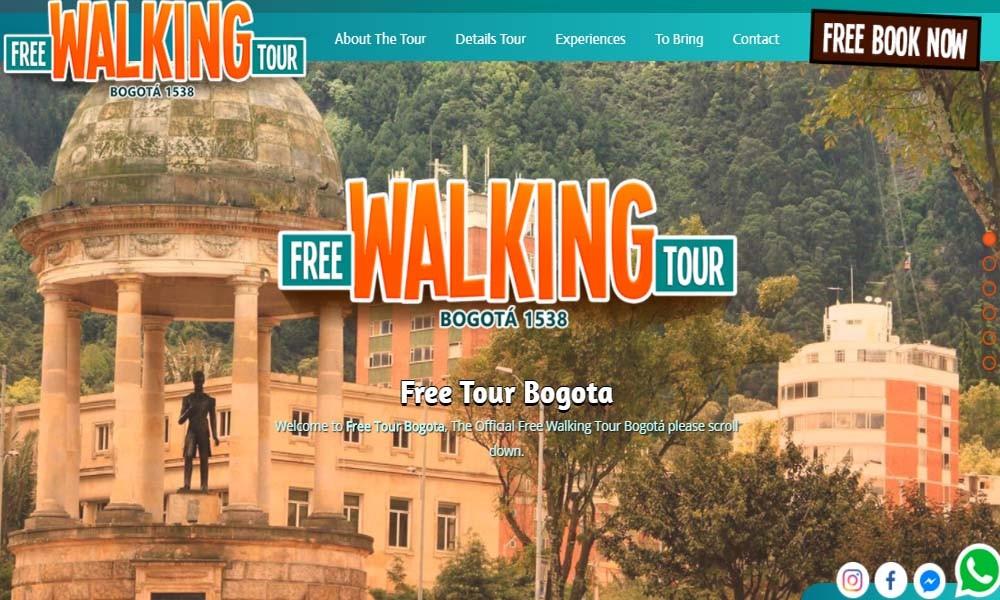 Free Walking Tour Bogota 1538