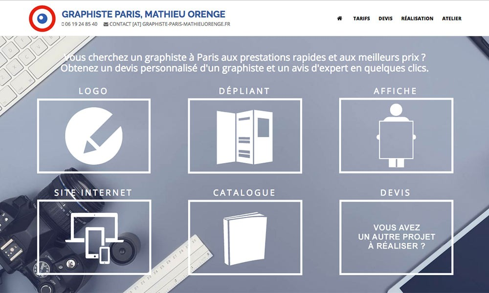 Graphiste Paris - Mathieu Orenge
