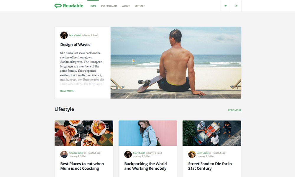 Meet Readable - The first Medium.com like WordPress theme