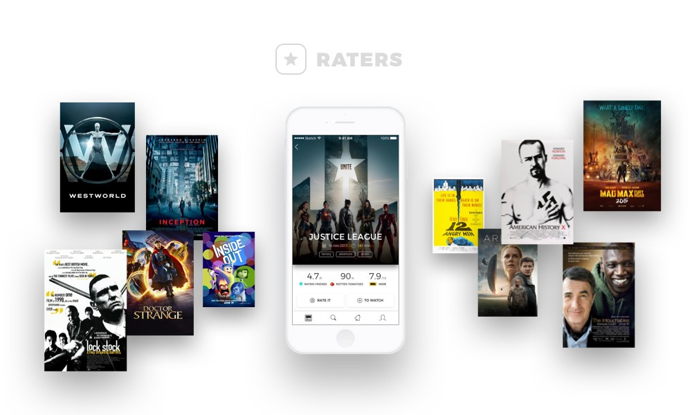 Raters  is a social network for movie lovers.
