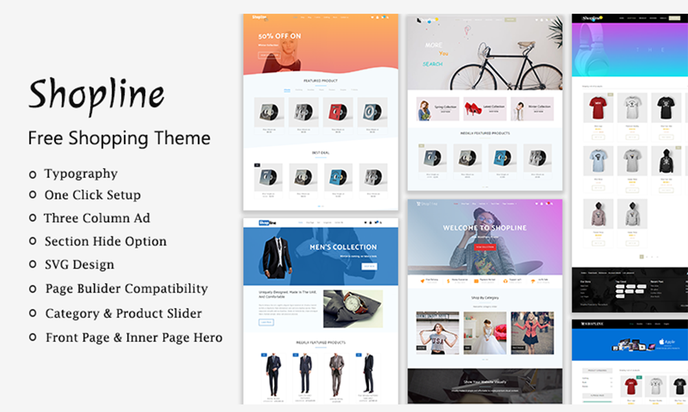Shopline - Free Shopping Theme