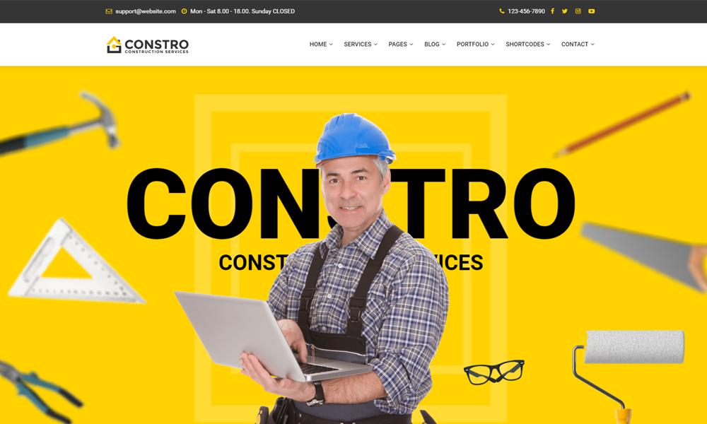 Constro - Construction Business Umbraco Theme