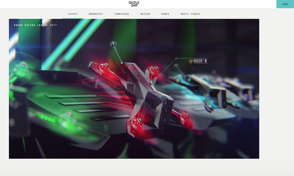 Dazzle Ship - Design + Motion