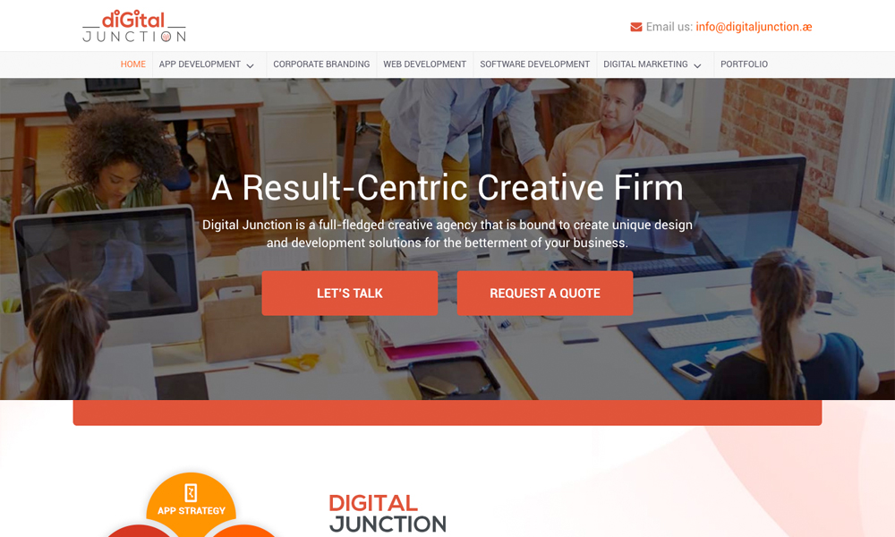 Digital Junction - A Creative Digital Agency