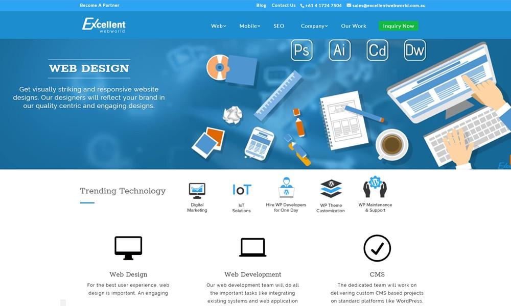 Excellent WebWorld Australia