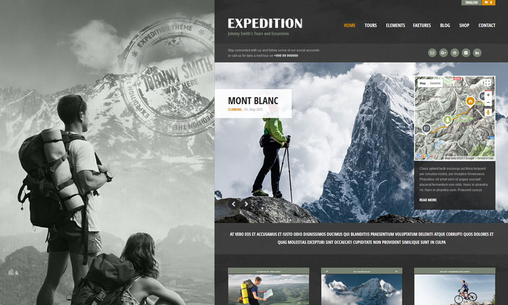 Expedition WordPress Theme