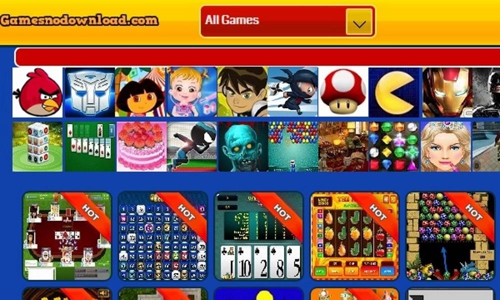 Games no download