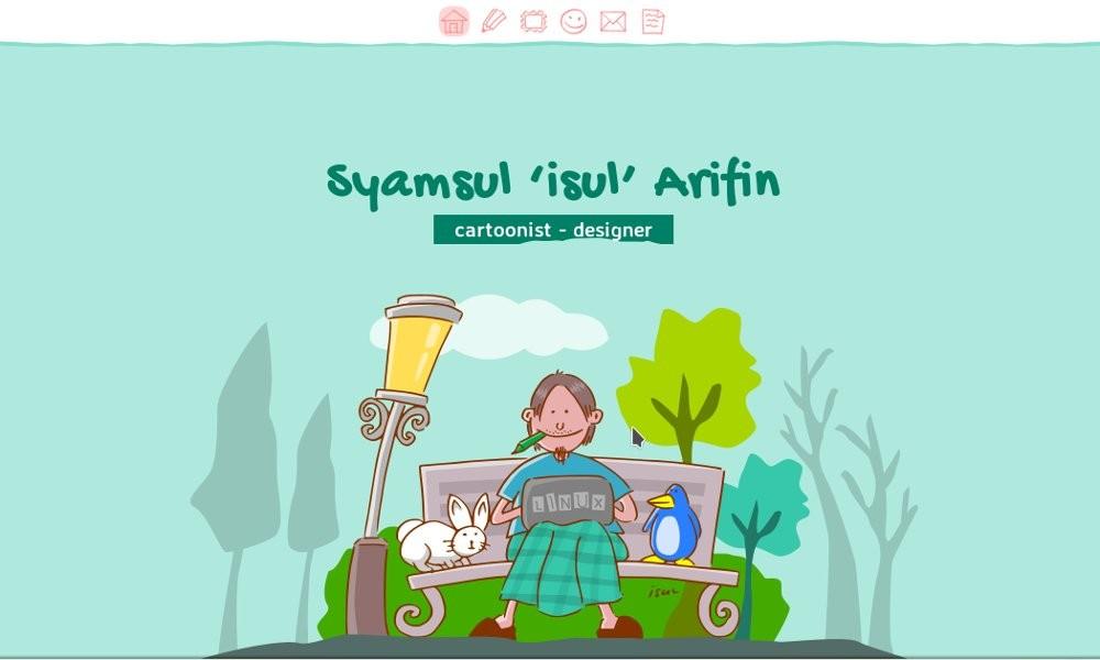 isul's personal site