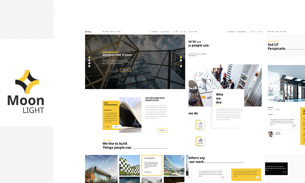 Moonlight - Architecture, Decor & Interior Design WP Theme