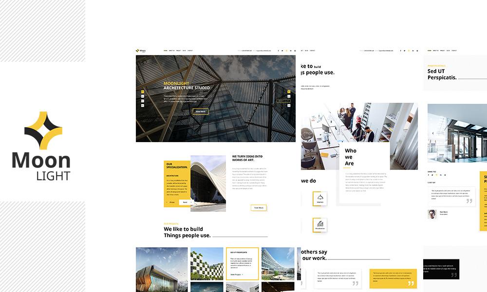 Moonlight - Architecture, Decor & Interior Design WP Theme