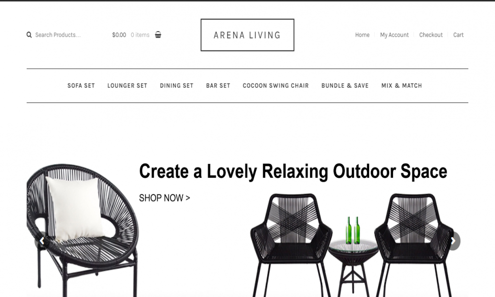 Arena Living - Outdoor Furniture Singapore