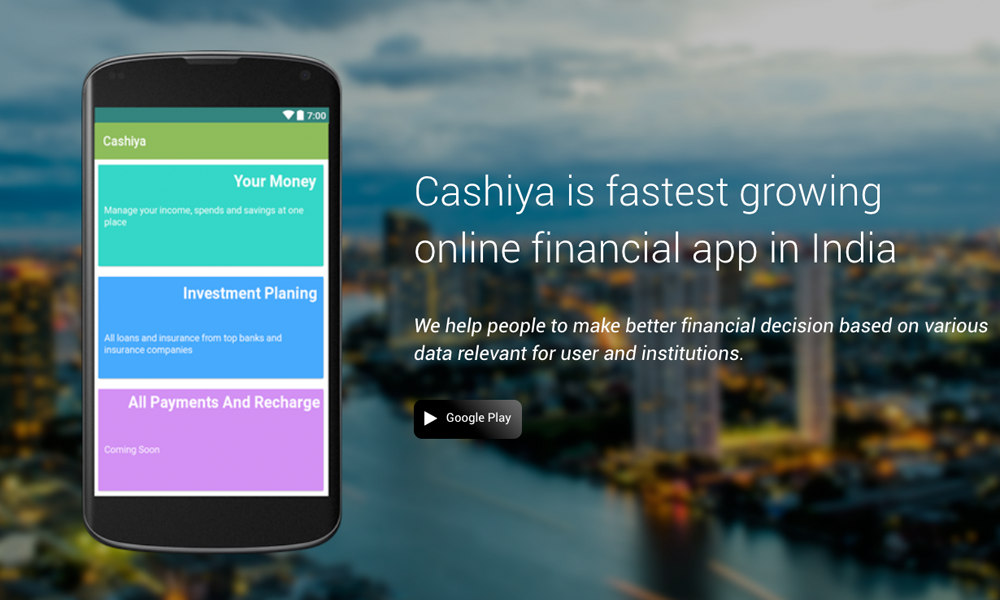 Cashiya Personal Finance Personalized