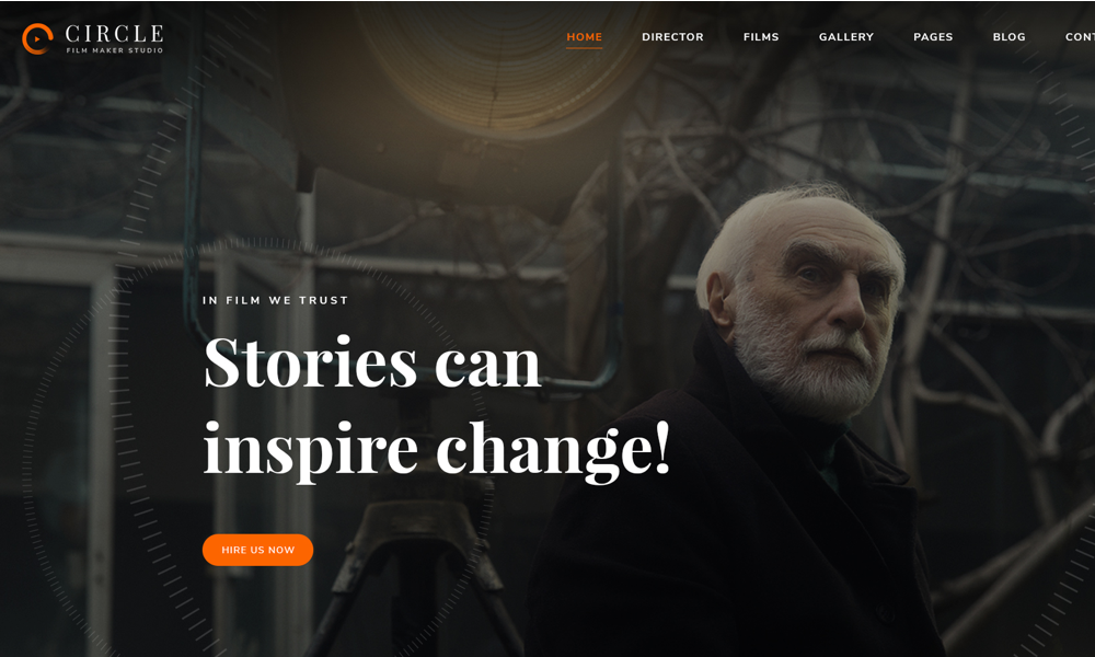 Circle - Multipurpose Film, Video WordPress theme