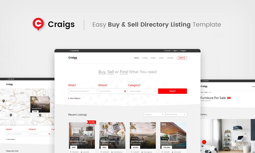 Craigs listing