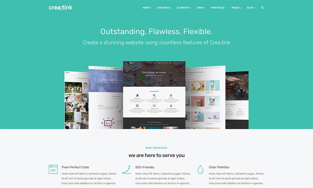 Crea;tink Multi-Concept HTML5 Template