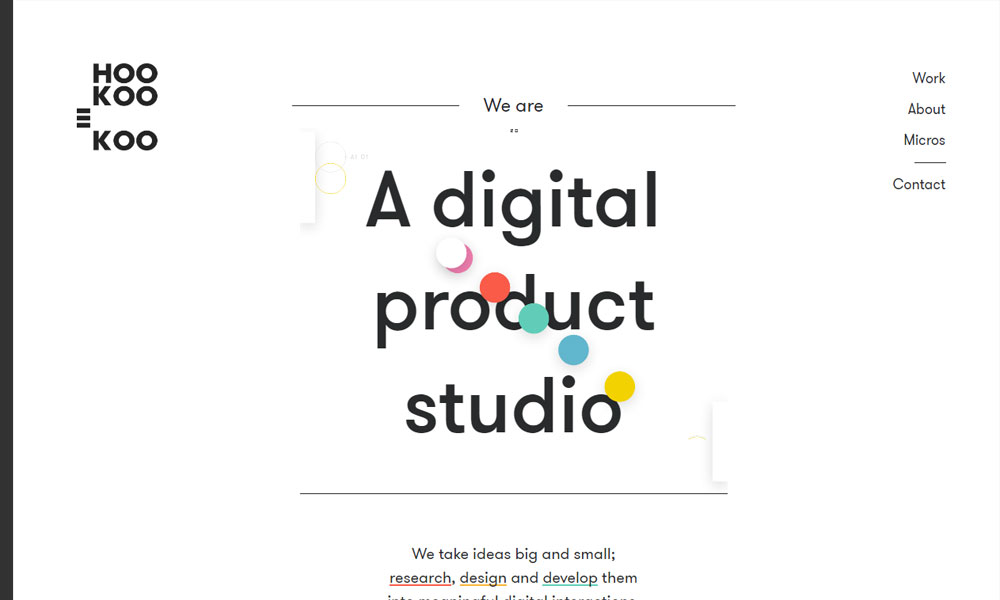 HOO KOO E KOO - A digital product studio