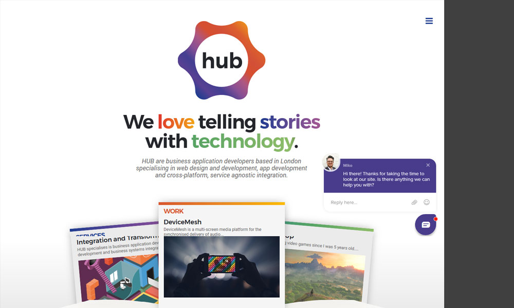 HUB - Business Application Development