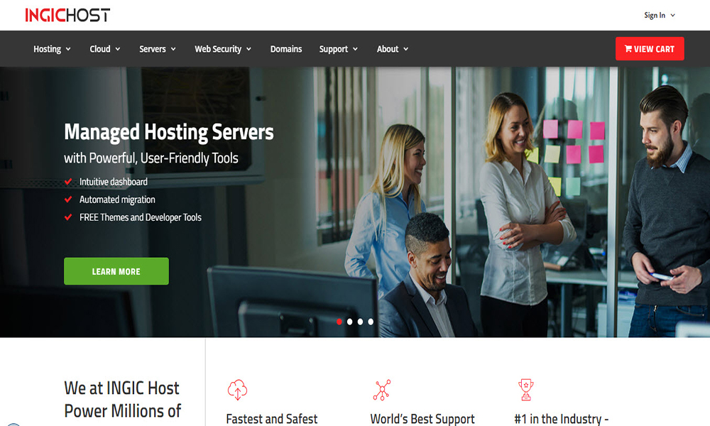 INGIC Host - Top Web Hosting & Domain Providers